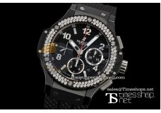 HB8350 -  Ice Bang II Black 2009 Ver Diamond/Ceramic - Asian 7750 28800bph