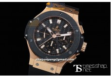 HB1540B -  Big Bang Evolution Black Dial Ceramic RG/RU - Asian 7750 28800bph